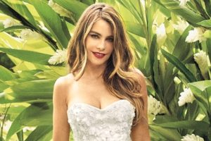 Sofia Vergara Trys Out Beautiful Bridal Gown For Her Soon To Be Wedding With Joe Manganiello 3