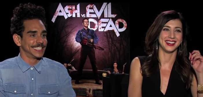 Ash vs Evil Dead - Dana DeLorenzo & Ray Santiago - ZayZay.Com
