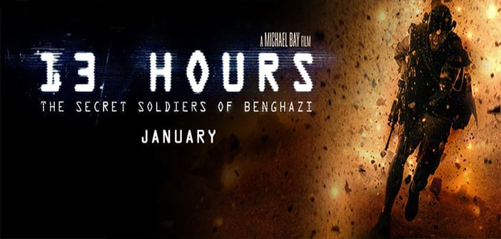 13 HOURS: THE SECRET SOLDIERS OF BENGHAZI - New Green Band Trailer With Poster 1
