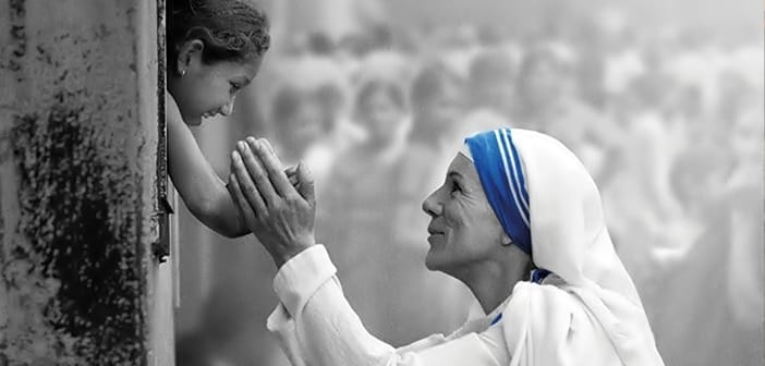 THE LETTERS - Today is World Kindness Day & We Would Like To Honor Mother Teresa