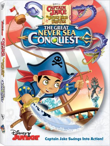 CaptainJakeAndTheNeverLandPiratesTheGreatNeverSeaConquestDVD-e1445634473489