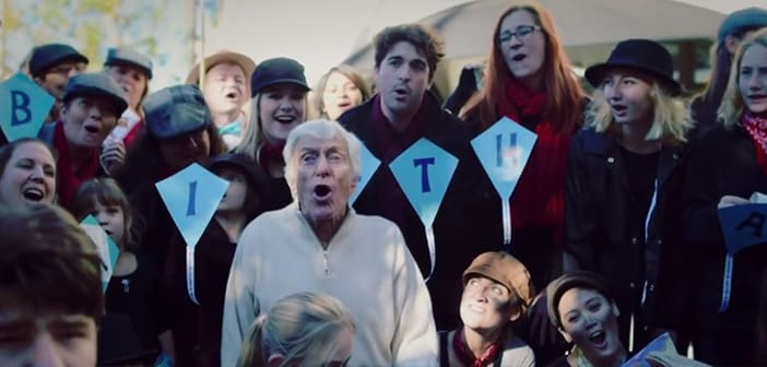 Flash Mob Comes Together To Celebrate Dick Van Dyke's 90th Birthday