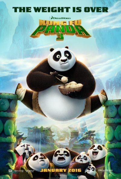 KUNG FU PANDA 3 poster 2