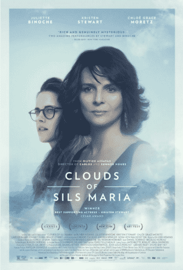 CLOUDS OF SILS MARIA (2014) A film star comes face-to-face with an uncomfortable reflection of herself while starring in a revival of the play that launched her career.