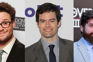 Seth Rogen, Bill Hader and Zach Galifianakis to Star in Space Comedy 'The Somethings'