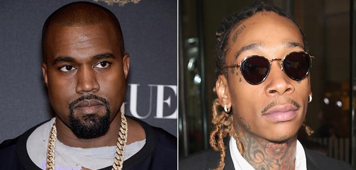 Wiz Khalifa And Kanye West  Have Apparently Buried The Hatchet After Twitter Feud Misunderstanding