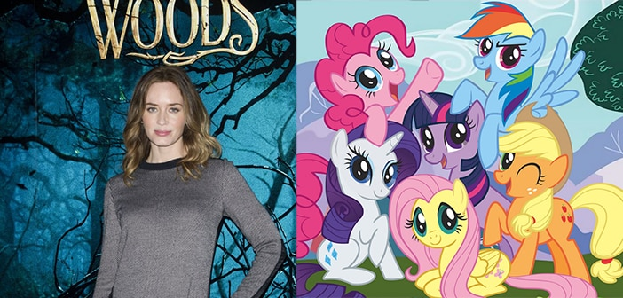 """Emily Blunt Jons Cast To Lend Her Voice To New 'MLP"""" Movie"""