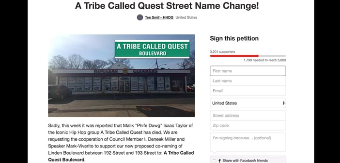 Phife Dawg Fans Create Petition To Gather Support To Name A Street After A Tribe Called Quest