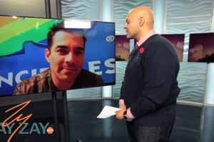 COMPADRES Interview - ZayZay Heads To Skype To Chat with Omar Chaparro