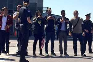 Rosario Dawson Gets Herself Arrested At Protest Rally
