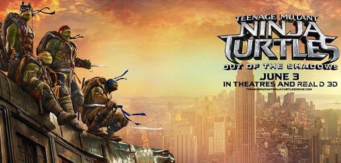 TMNT: OUT OF THE SHADOWS - Check Out the New Trailer! 3