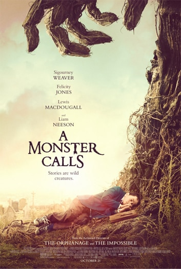 A Monsters Call One Sheet