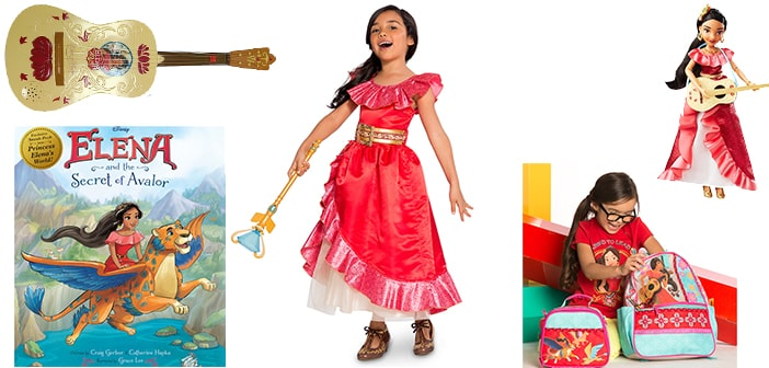 "Disney ""Elena of Avalor"" Products Make Their Royal Debut! 6"