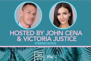 FOX's TEEN CHOICE AWARDS - Announces Hosts John Cena & Victoria Justice!