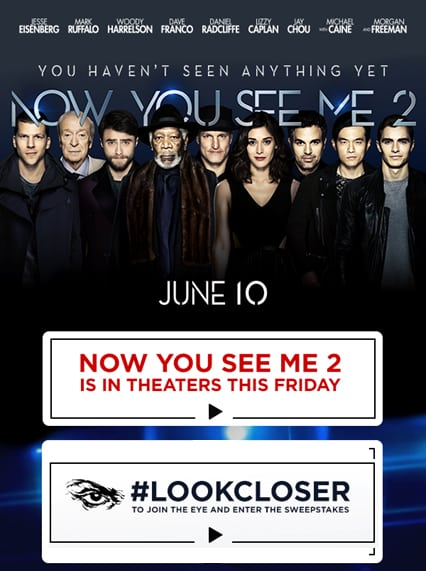 now you see me 2 - show your tricks homepage