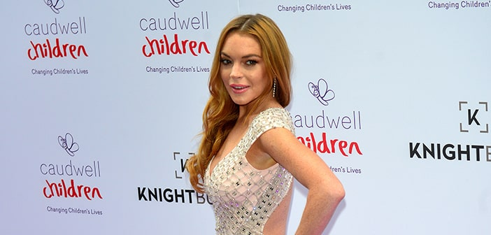 Lindsay Lohan Writing Book To Help Aid Readers In Overcoming Obstatacles