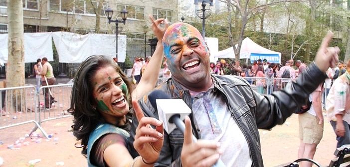 New York City Holi Hai Festival 2016 - ZayZay.Com