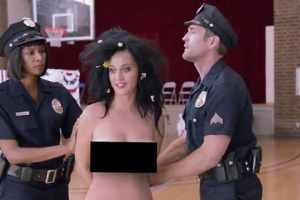 Katy Perry Bares It All On Her Way To The Voting Booth