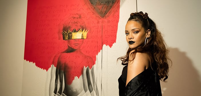 Rihanna Switches Her Look, Shows Off New Dreadlocks