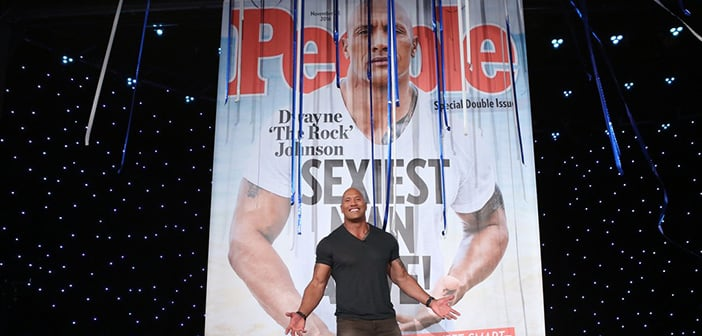 Actor Dwayne Johnson Named 2016's The Sexiest Man Alive