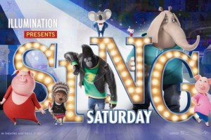 SING Saturday - Free Nationwide Screenings this Thanksgiving Weekend!