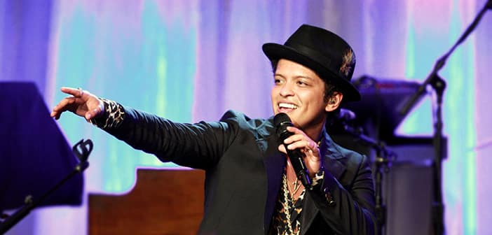 Bruno Mars To Arrange Performance For February's Grammy Award Show