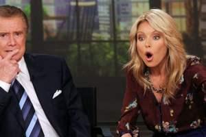 Regis Philbin Talks About His Estrangment With ExCo-Host Kelly Ripa