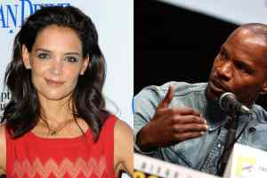 Jamie Foxx and Katie Holmes finally photographed together