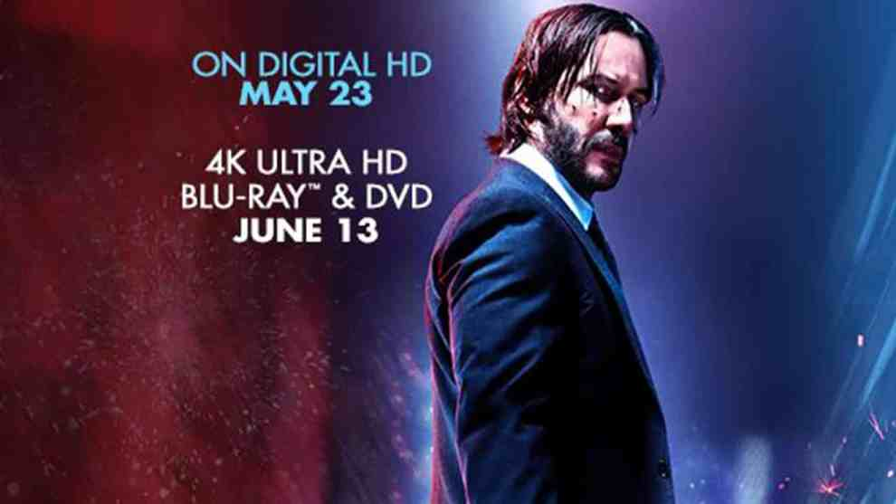 JOHN WICK: CHAPTER 2 Shoots Its Way Onto 4K Ultra HD, DVD, And On Demand On June 13
