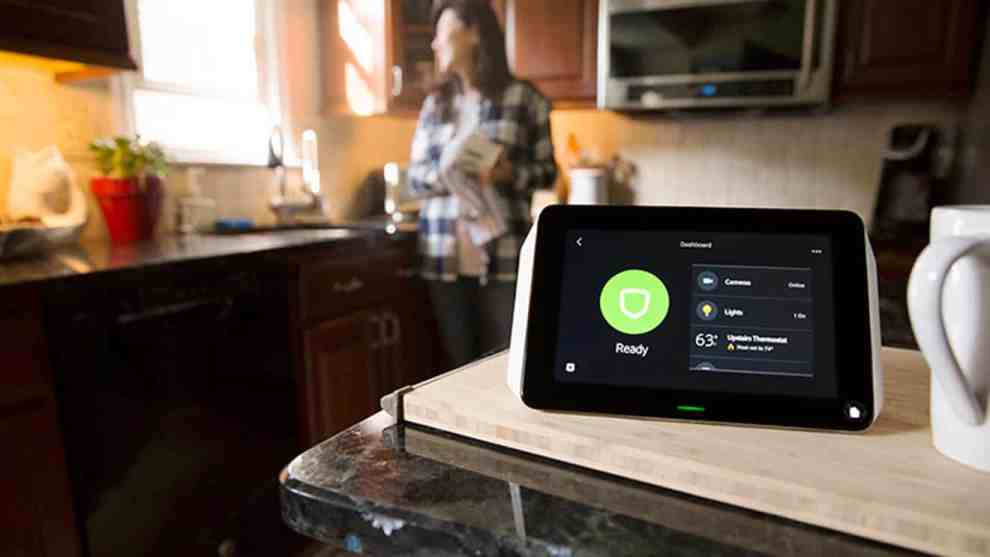 Xfinity Home_touch screen