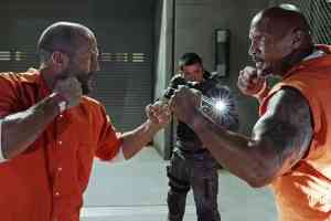 dwayne johnson and jason statham getting Furious spin off