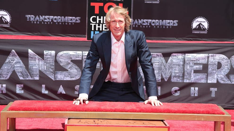 Michael Bay Honored By The TCL Chinese Theatre - cover