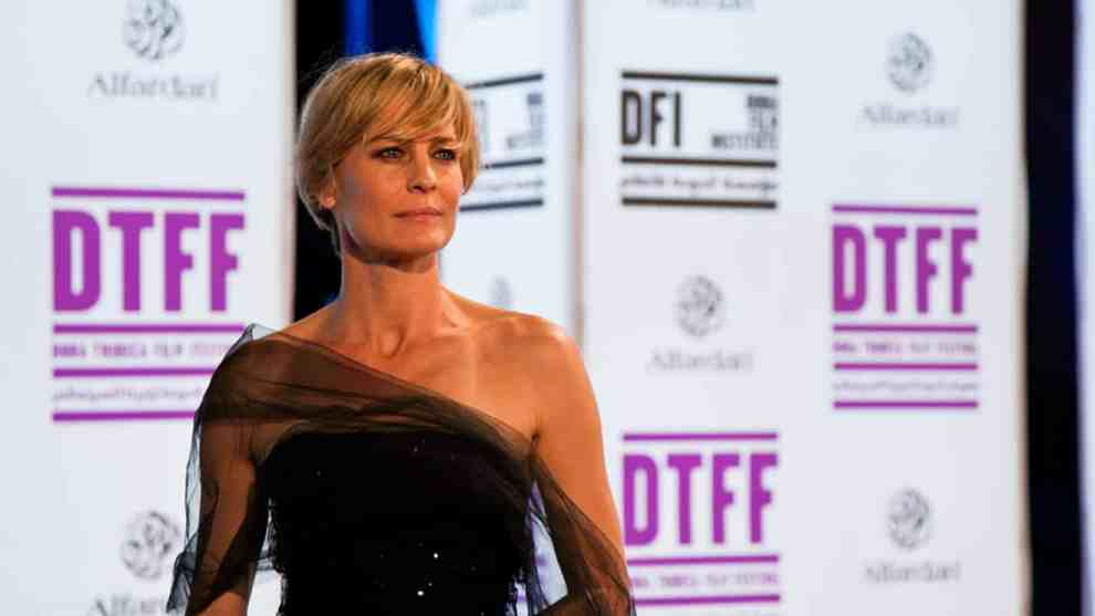 Robin Wright from House of Cards