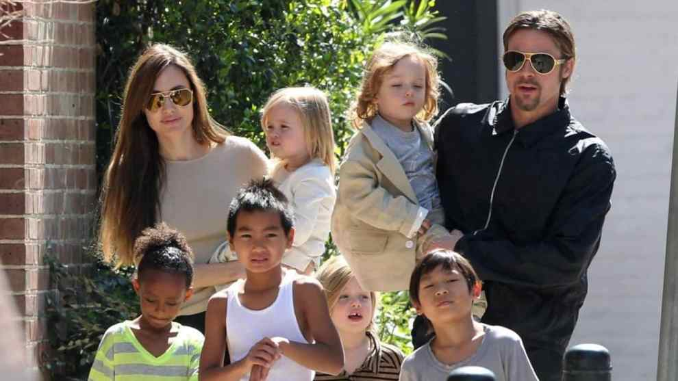 angelina-jolie-and-brad-pitt-family