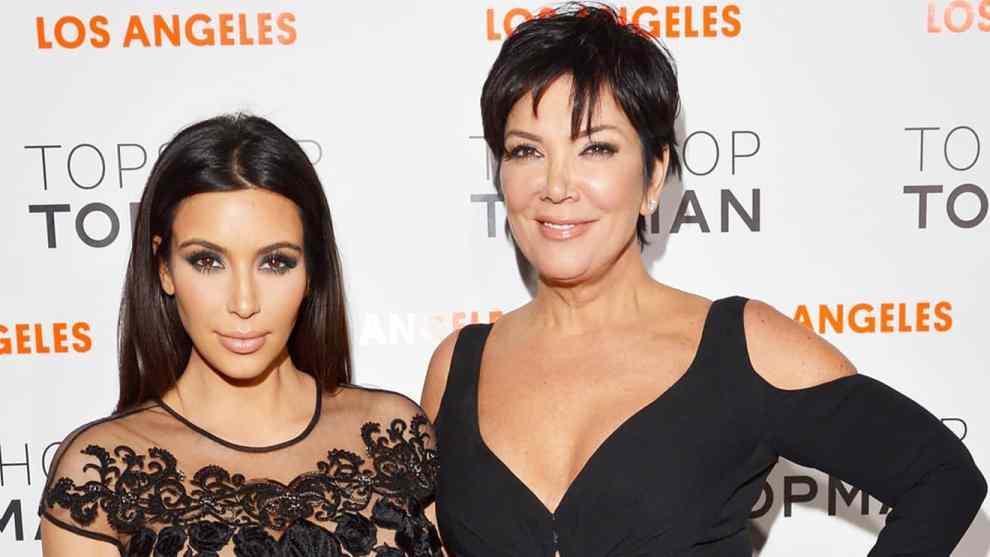 Kris jenner offers to be kim kardashian's surrogate