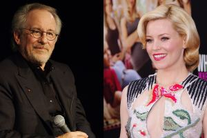 Elizabeth Banks and Steven Speilberg