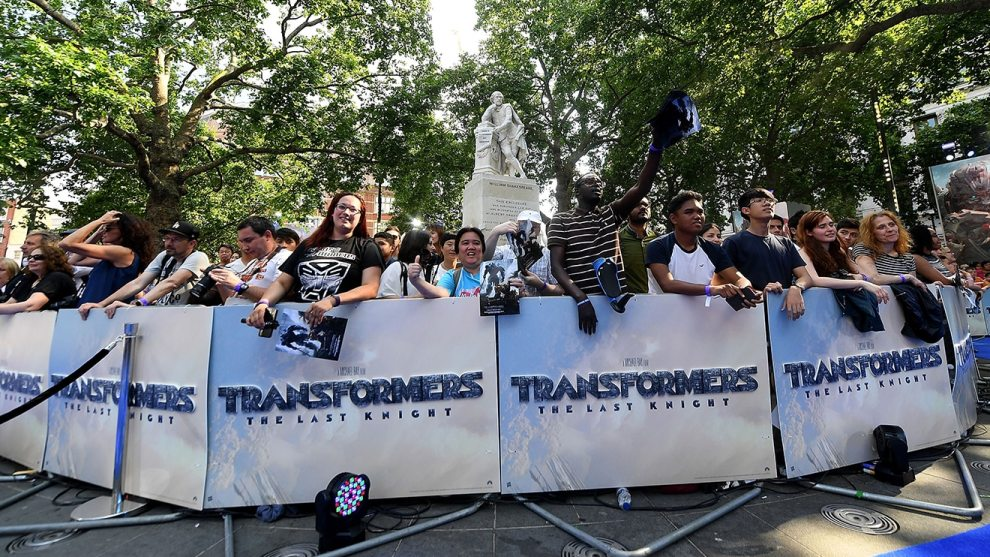 Global Premiere of TRANSFORMERS_THE LAST KNIGHT