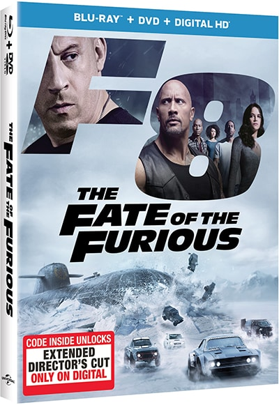 fate of the furious blu ray