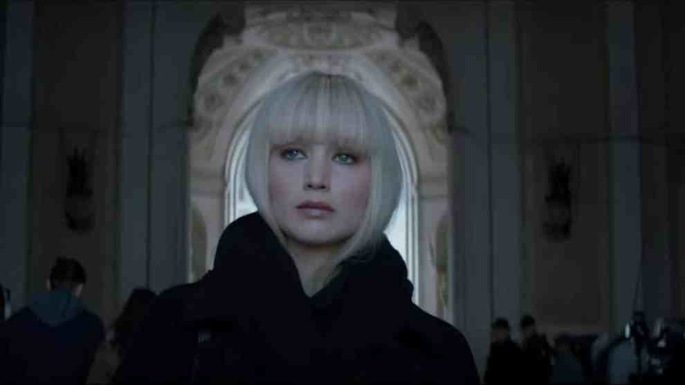 Red Sparrow featuring Jennifer Lawrence
