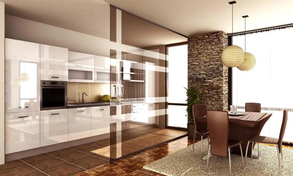 In questo ultimo esempio dello studio skorupski c'è un ottimo espediente per schermare la cucina quando si trova in diretta comunicazione con la porta d'ingresso. Come Dividere Soggiorno E Cucina Con Le Pareti Vetrate Zaza Design