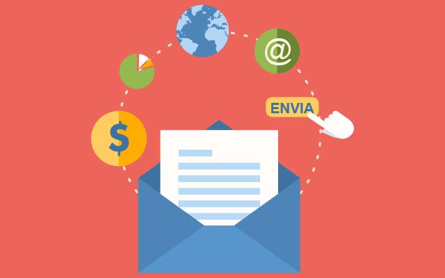 Desenvolvimento de sites, mail marketing