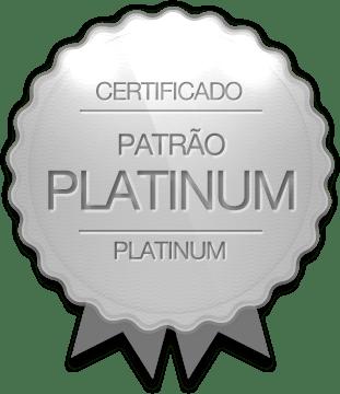 Badge de Patrões Platinum