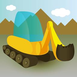 Ícone do app 100 Escavadeiras