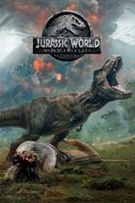 Capa do filme Jurassic World: Reino Ameaçado