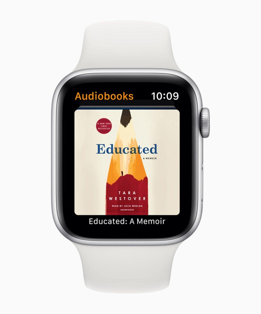 App Audiolivros no watchOS 6