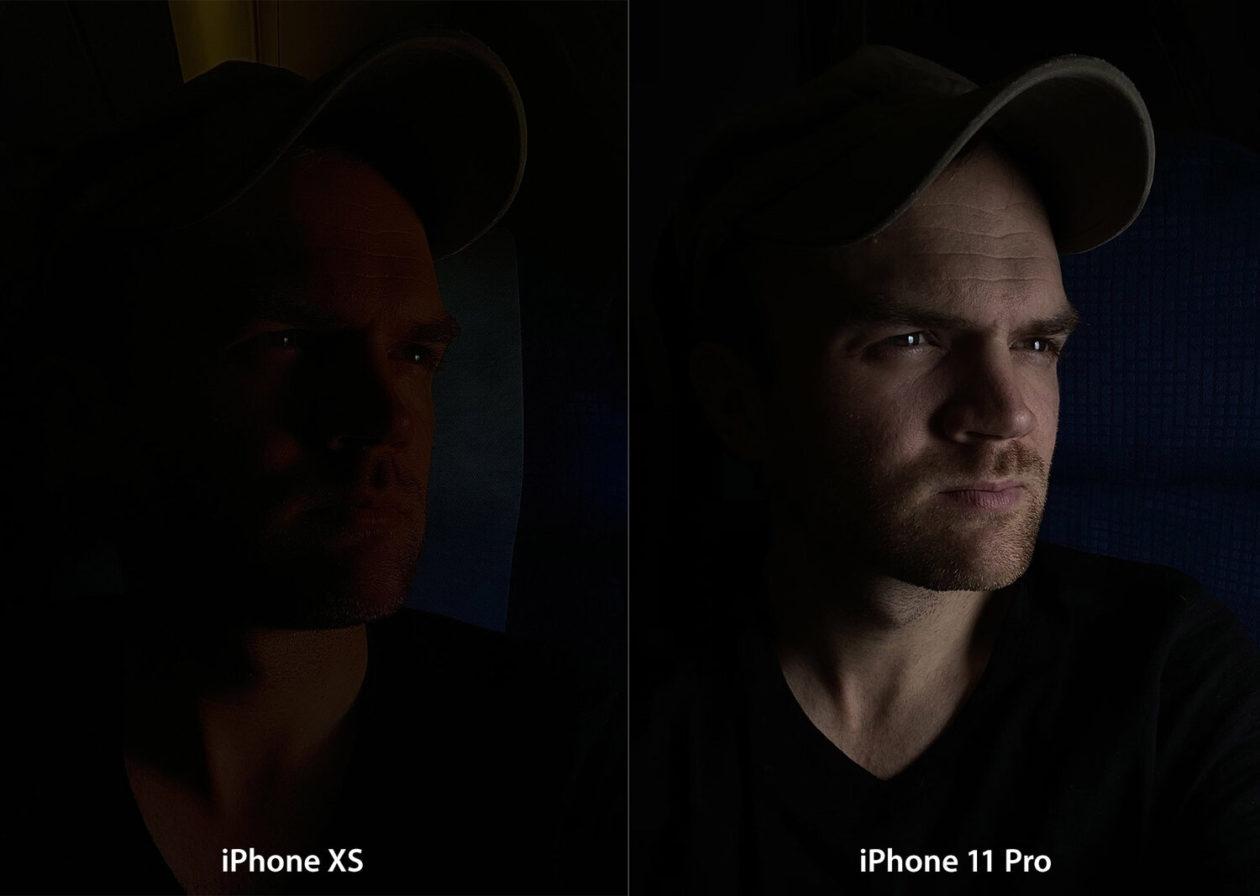 Comparação de fotos tiradas com o iPhone XS e 11 Pro