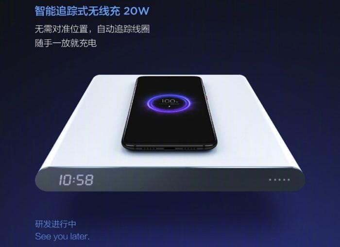 Carregador sem fio de 20 W da Xiaomi