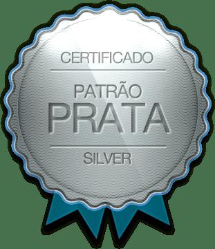 Badge - Patrão Prata