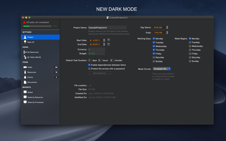 Screenshot do app xPlan