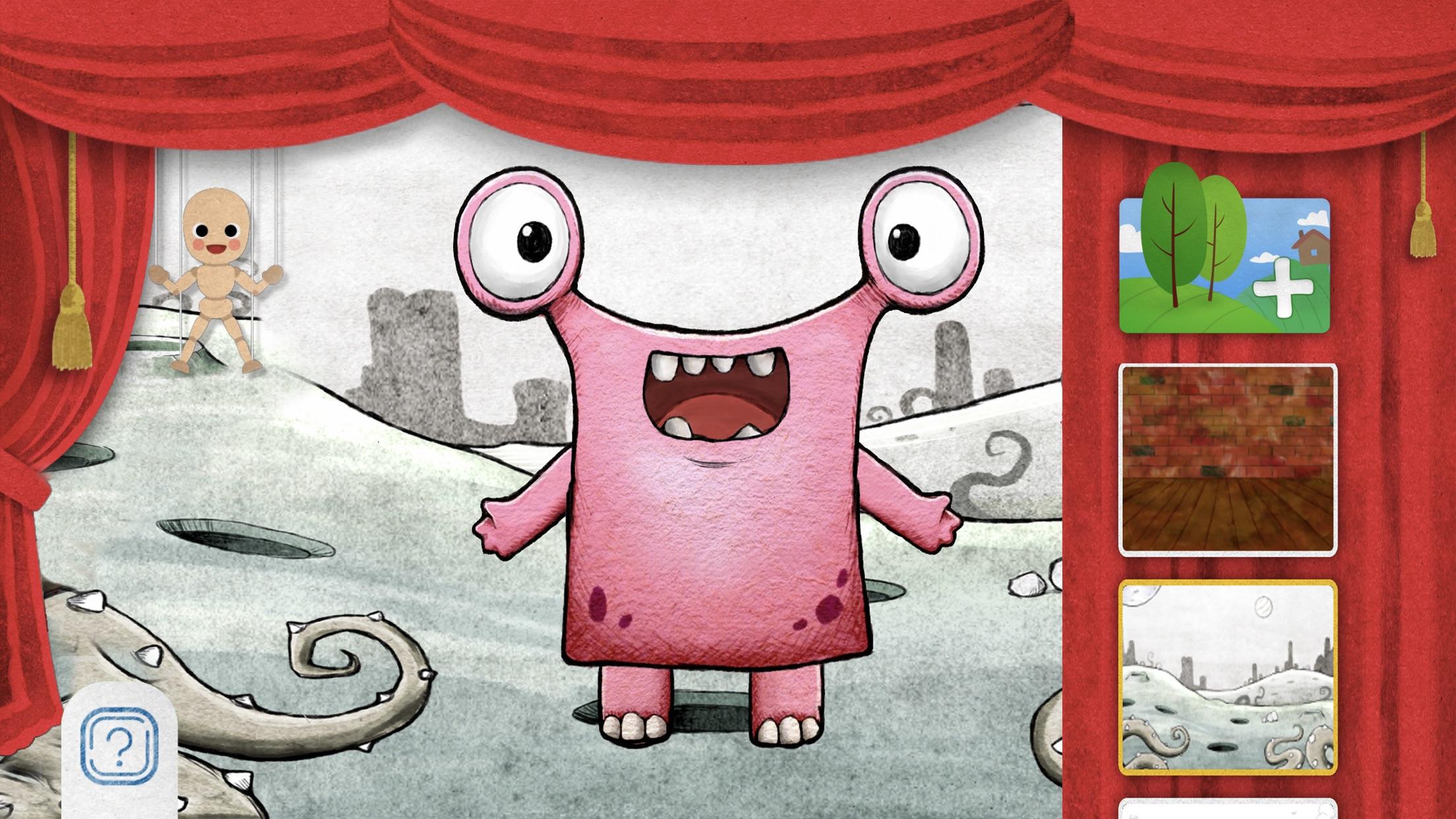 Screenshot do app PuppetMaster